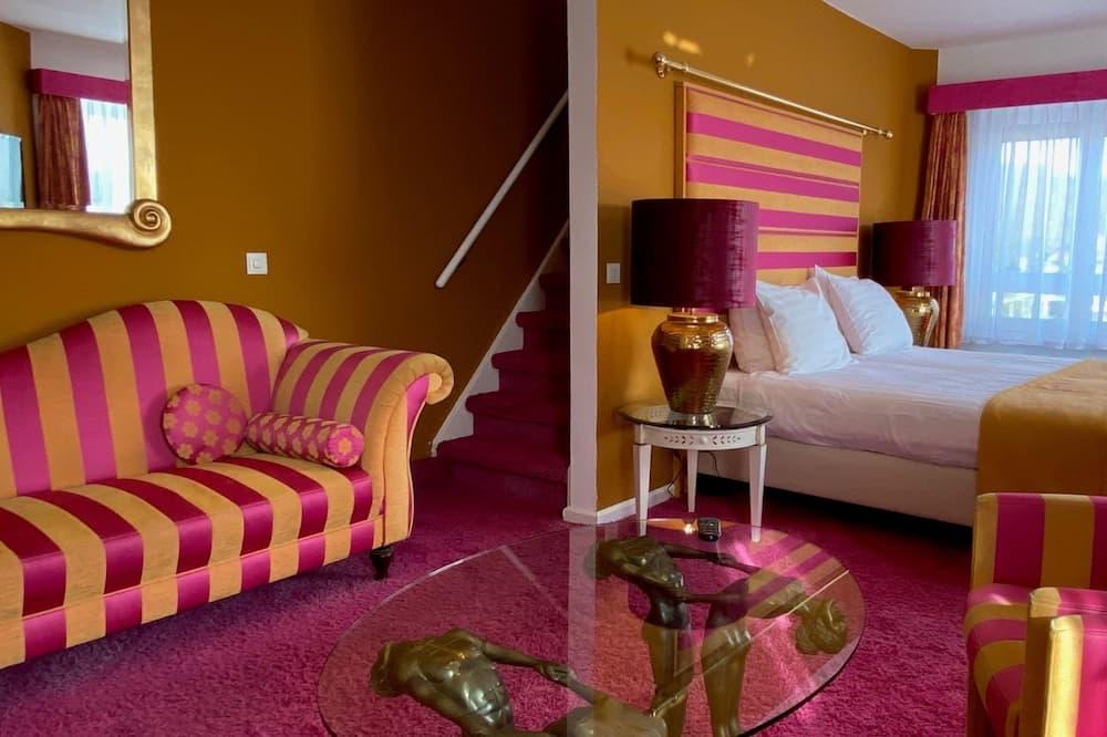 Suite, sauna, torre - Sala de estar