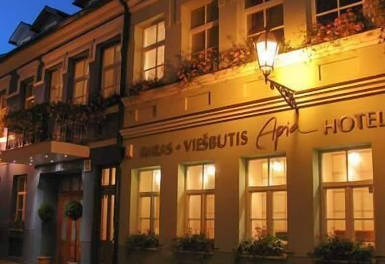 Apia Hotel, Vilnius, Voorkant hotel
