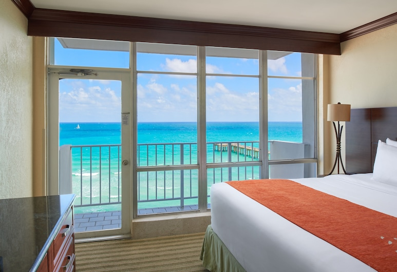 Newport Beachside Hotel & Resort, Sunny Isles Beach, Classic Executive Suite , Vista al balcón