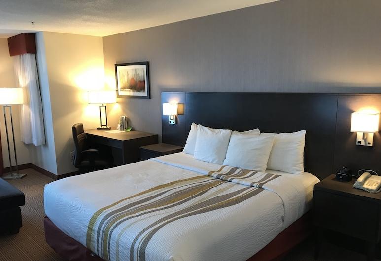 La Quinta Inn by Wyndham Vancouver Airport, Richmond, Deluxe-Zimmer, 1King-Bett, Nichtraucher, Bergblick (Deluxe Executive Room), Zimmer