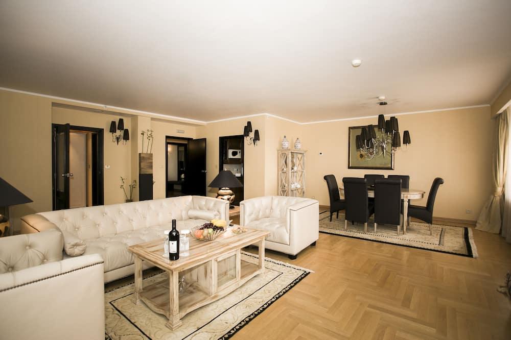 Vice-Presidential Suite - Vardagsrum