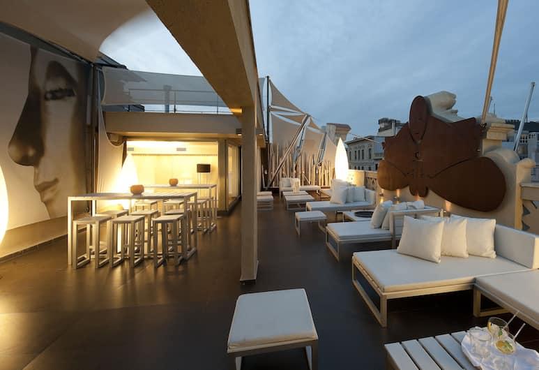 Hotel Constanza, Barselona, Teras/Veranda