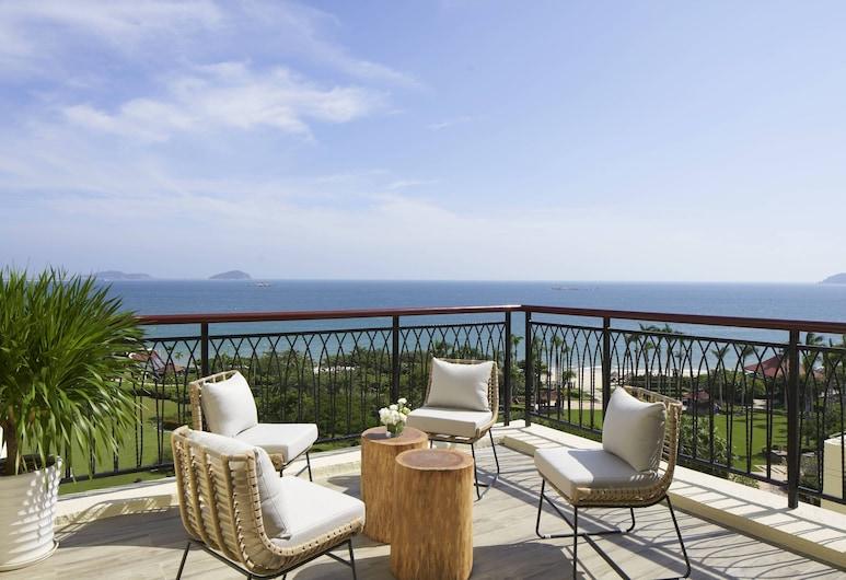 Sanya Marriott Yalong Bay Resort & Spa, Sanya, Sviit, 1 magamistoaga, vaade ookeanile (Panoramic), Terrass