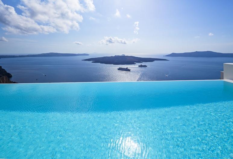 大都會套房飯店, 聖托里尼, 室外游泳池