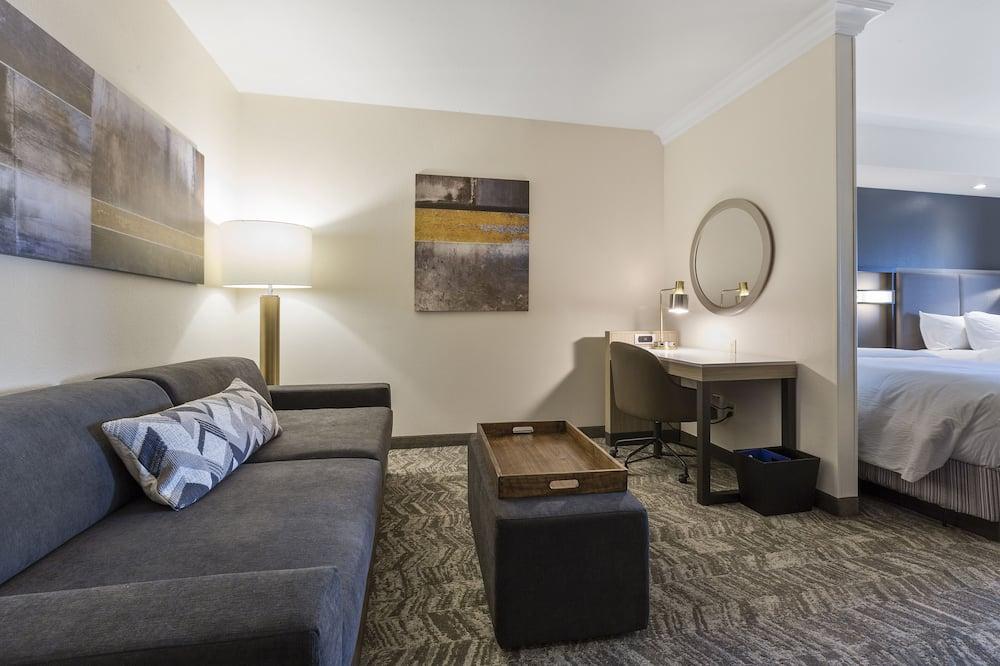 Номер-люкс, 2 ліжка «квін-сайз», для некурців - Вітальня