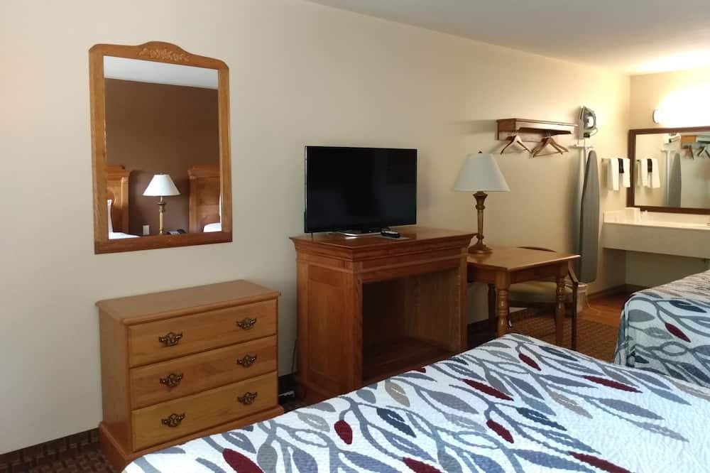 Standardzimmer, 2Queen-Betten - Wohnbereich