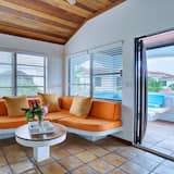 Štúdiový apartmán typu Classic, 1 extra veľké dvojlôžko, výhľad na oceán, s výhľadom na more - Stravovanie v izbe