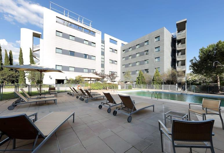 Exe Madrid Norte, Madrid, Pool på tagterrassen