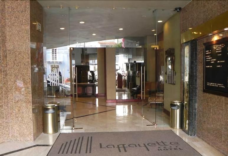 Hotel Laffayette, Guadalajara, Lối vào khách sạn