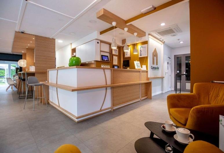 Campanile Hotel Liege, Liege, Reception