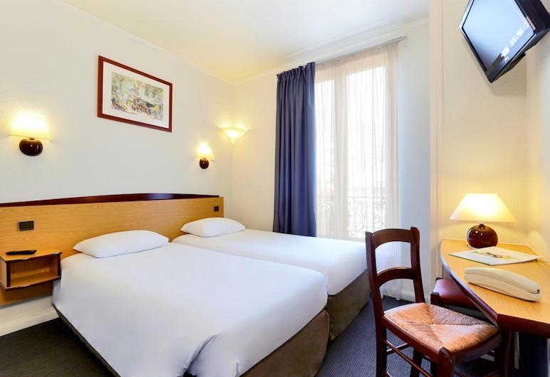 西巴黎布洛涅康鉑飯店, Boulogne-Billancourt, 三人房, 客房