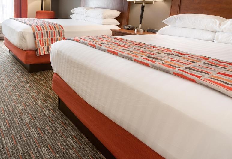 Drury Inn & Suites Dayton North, Dayton, Suite, Mehrere Betten, Kühlschrank und Mikrowelle (Upper Floor, 2 Rooms, Sofabed), Zimmer