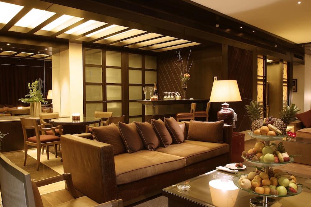 Prezidenta luksusa numurs - Dzīvojamā istaba