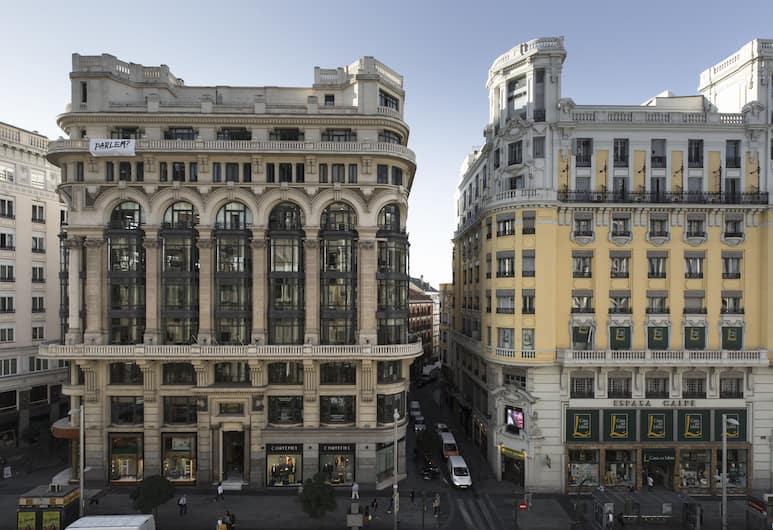 Petit Palace Triball, Madrid, Fassaad