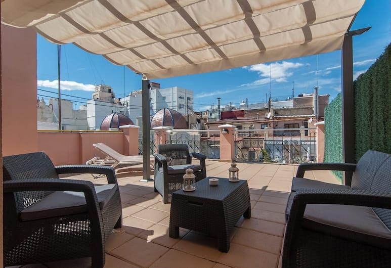 Hotel Sorolla Centro, Valencia, Habitación Deluxe Superior con Terraza, Guest Room