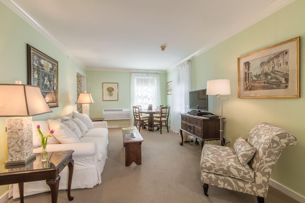 Apartmá, nekuřácký, soukromá koupelna (Longfellow Suite) - Obývací prostor