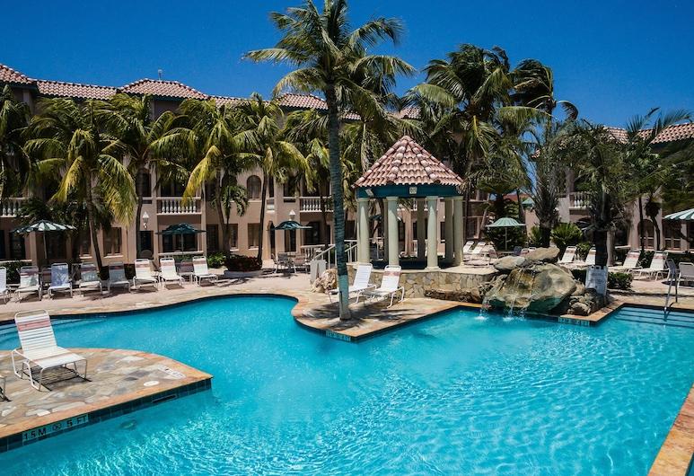 Caribbean Palm Village Resort, Noord, Útilaug