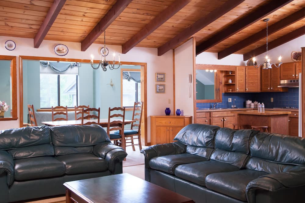 2 Bedroom, 2 Bath Apartment (includes futon) - Living Area