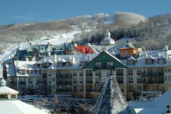 Introduce las fechas para ver los descuentos de hoteles en Mont-Tremblant