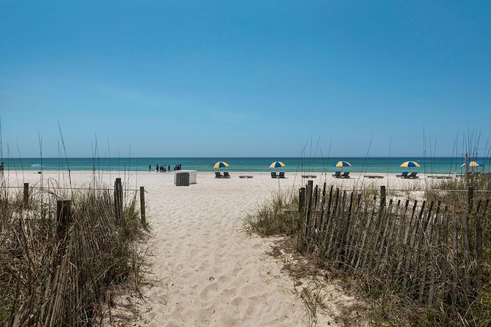 Camera doppia, 2 letti matrimoniali, lato spiaggia - Spiaggia