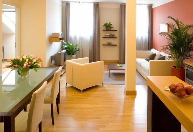 Mamaison Residence Belgicka, Praga, Suíte executiva, 1 quarto, Quarto