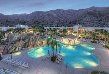 Mynd af Palm Canyon Resort by Diamond Resorts í Palm Springs