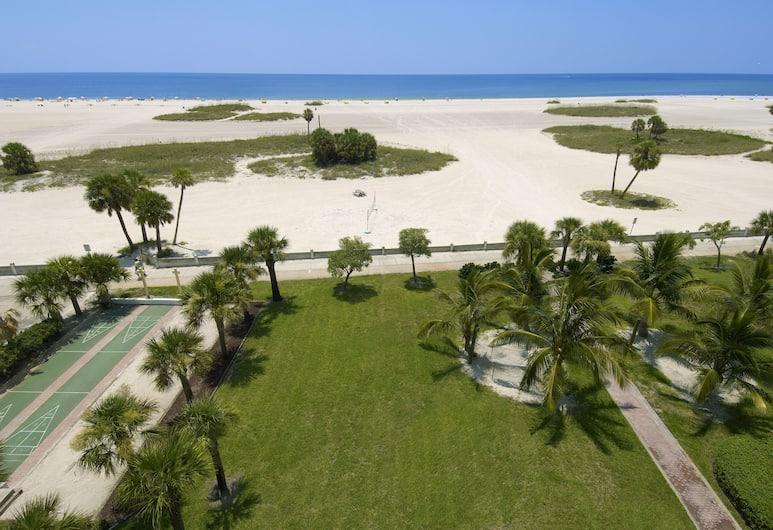 South Beach Condo Hotel by Sunsational Beach Rentals LLC, Isola del Tesoro, Appartamento, 1 camera da letto, balcone (Gulf Front), Vista spiaggia/mare
