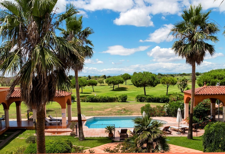 Le Palmyra Golf Hotel, Agde, Chambre Triple Confort, vue golf, Balcon