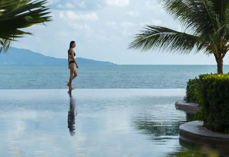 蘇梅島波普安納塔拉度假酒店, Koh Samui, 無邊際泳池
