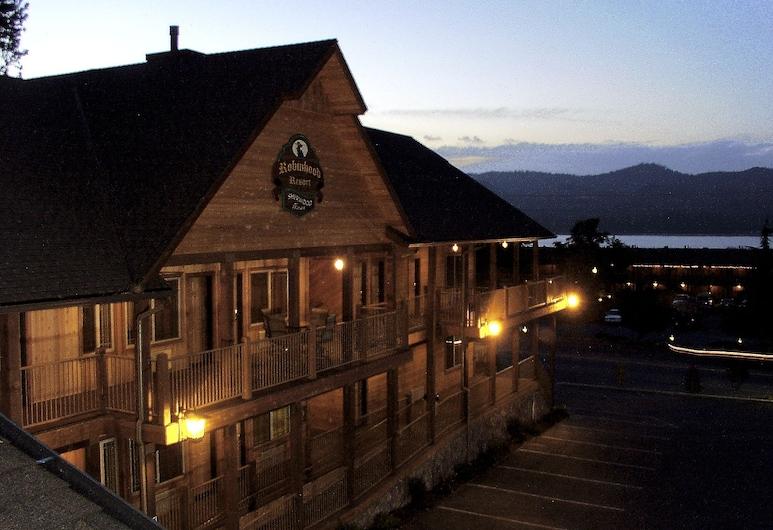 Robinhood Resort, Big Bear Lake, Façade de l'hôtel - Soir/Nuit