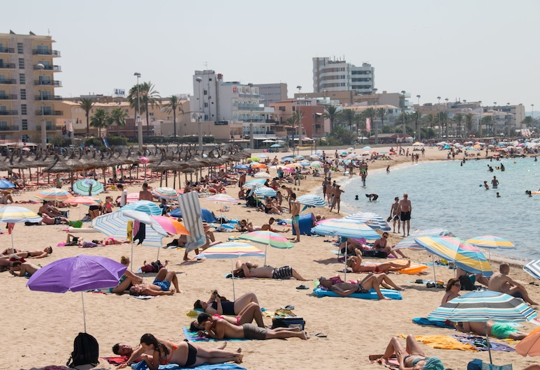 Hotel Amic Can Pastilla, Playa de Palma, Superior dubbelrum, Strand