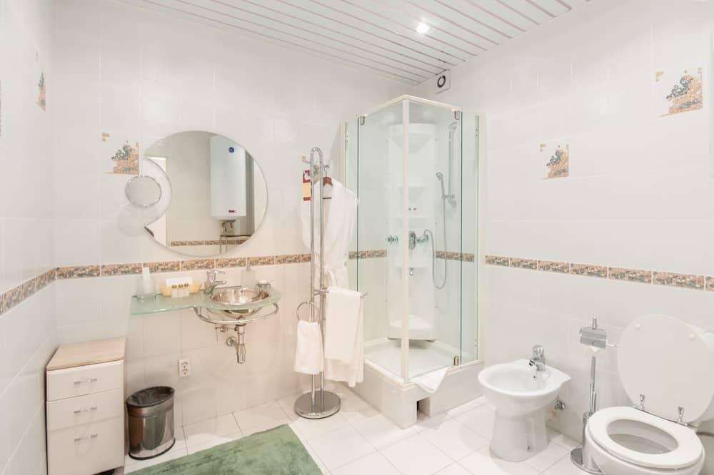 Apartmán, 1 ložnice, kuchyně - Koupelna