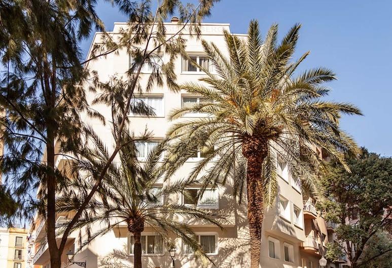 Sixties Ramblas, Barcelona, Hotel Front
