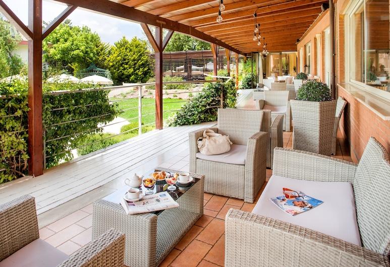 Ostia Antica Park Hotel, Rom, Terrasse/patio