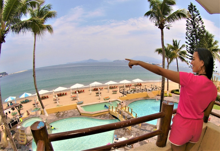 Hotel Marina Puerto Dorado - All Inclusive, Manzanillo, Master Suite, Výhled z balkonu