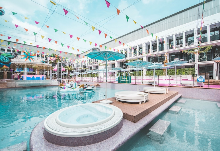 Ibiza Rocks Hotel, Sant Antoni de Portmany, Zwembad