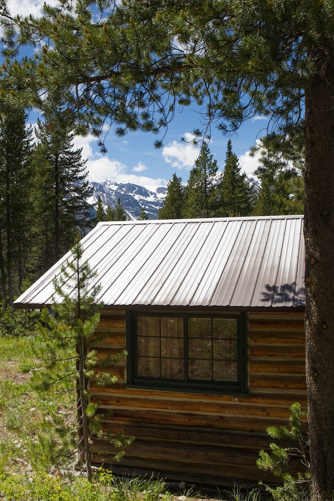 We Ced In A Tent Cabin At Colter Bay The Grand Tetons I Have Attached Picture Of Our Home