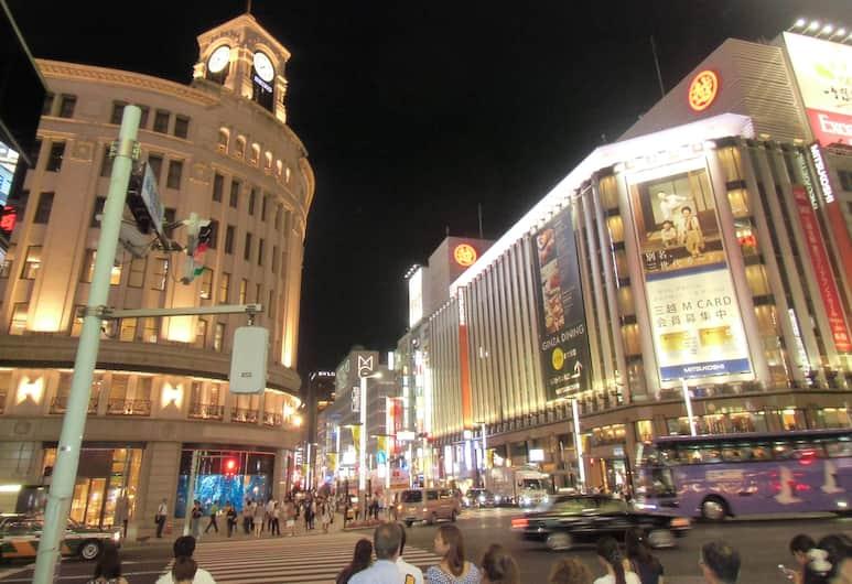 銀座蒙特利酒店, 東京, 酒店景觀