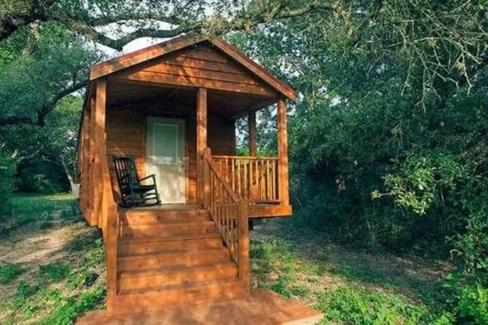 Namiņš, privāta vannasistaba (Sunset Pond Cabin) - Viesu numurs