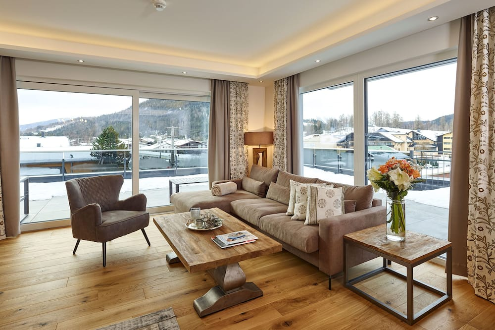 Superior Penthouse (34-Living-incl. Cleaning Fee € 125) - Living Area