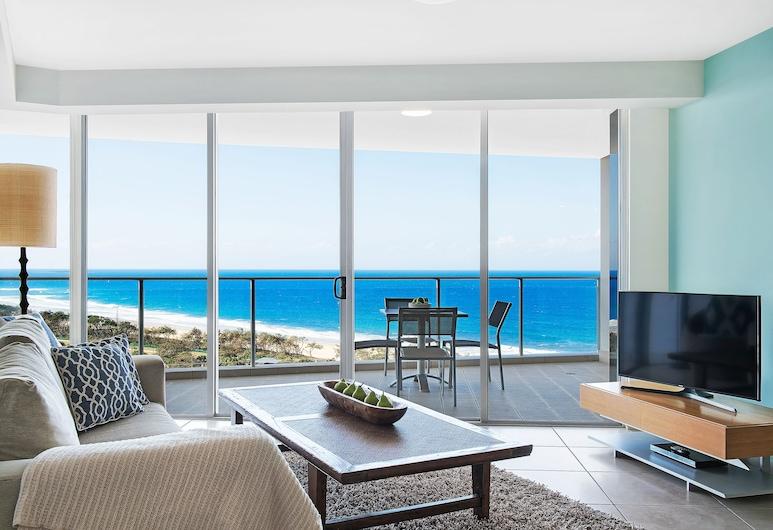 The Sebel Maroochydore, Maroochydore, Apartment, 2 Bedrooms, Ocean View, Living Room