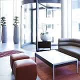 Sitteområde i lobbyen