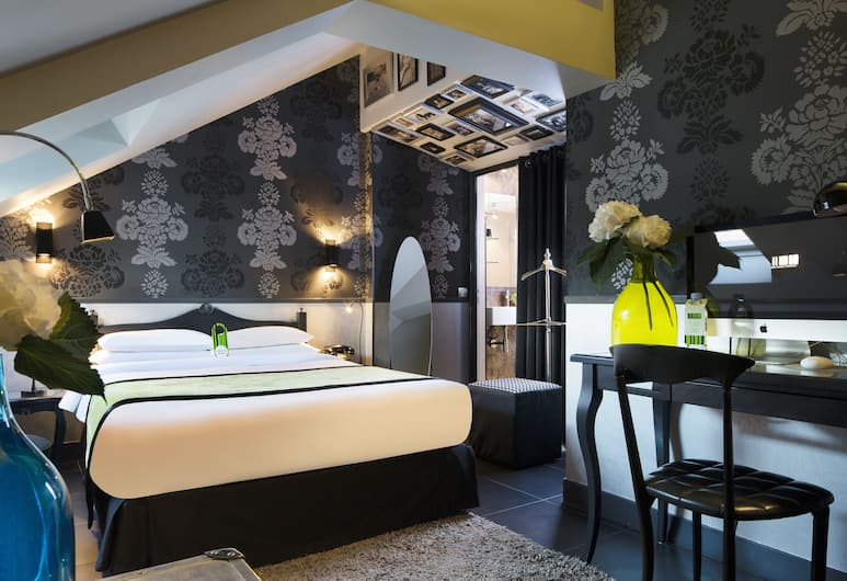 Hotel Design Sorbonne, Parijs, Klassieke tweepersoonskamer (Design), Kamer