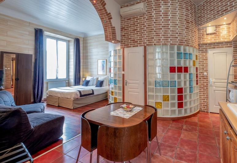 Apart'hotel Ajoupa, Nizza, Studio, Zimmer