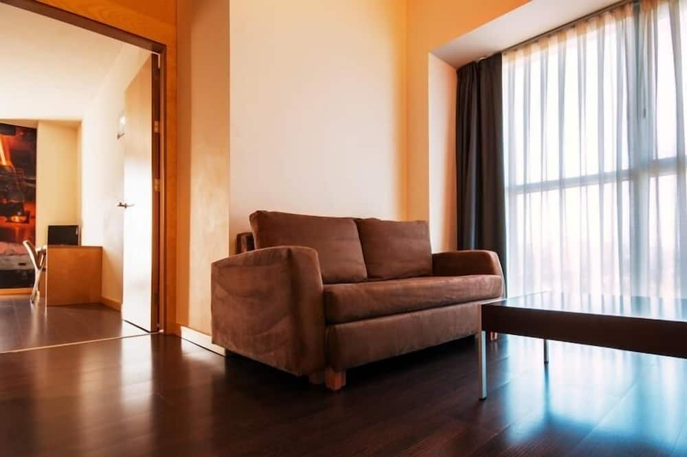 Double Room (with lounge) - Living Area