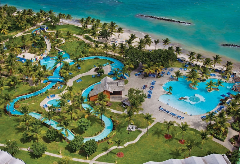 Coconut Bay Beach Resort & Spa All Inclusive, Vieux Fort, Aerial View