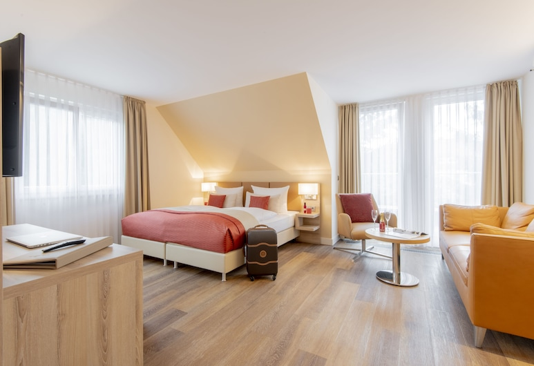 Hotel Wegner - The Culinary Art Hotel, Лангенхаген, Улучшенная вилла, 1 двуспальная кровать «Квин-сайз», Номер