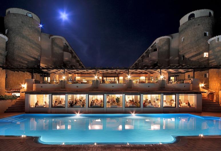 Grand Hotel Smeraldo Beach, Arzachena, בריכה חיצונית