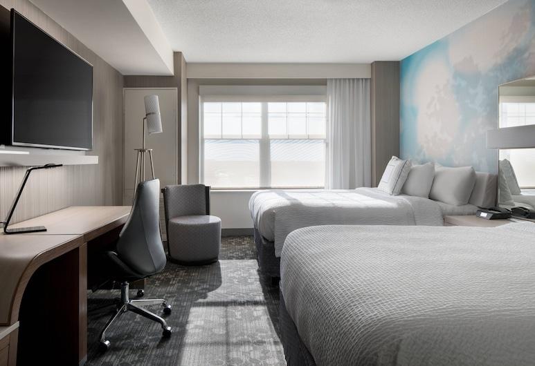 丹佛機場度假公園萬怡酒店, 丹佛, 客房, 2 張加大雙人床, 山景, 客房