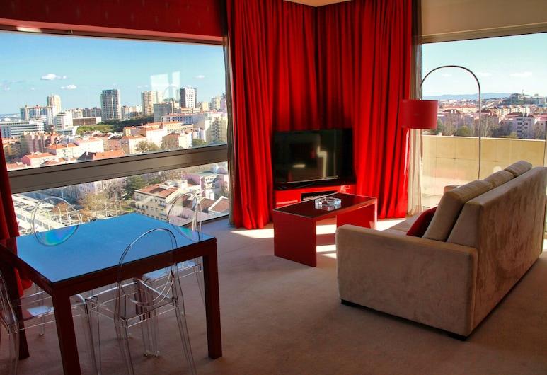 Lutecia Smart Design Hotel, Lisbon, Suite, Living Area